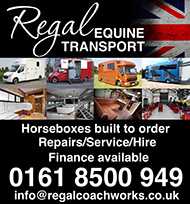 Regal Equine Transport - Horseboxes built to order, repairs, service, hire.