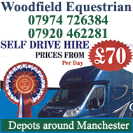 Woodfield Equestrian Self Drive Hire, depots around Manchester
